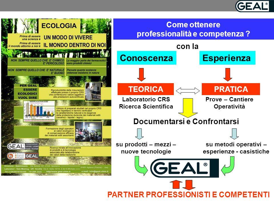 Come ottenere professionalità e competenza .