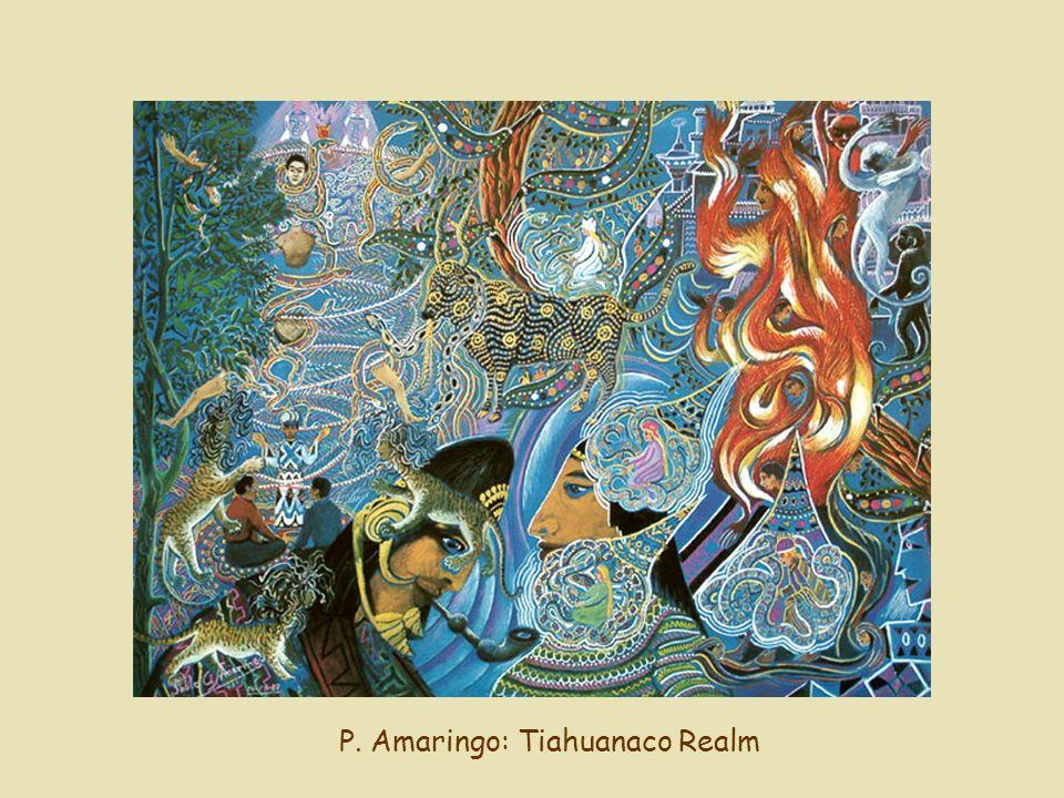 P. Amaringo: Tiahuanaco Realm
