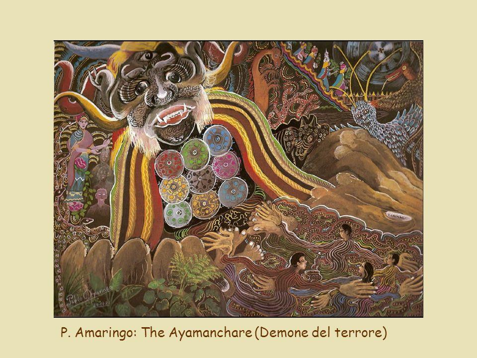 P. Amaringo: The Ayamanchare (Demone del terrore)