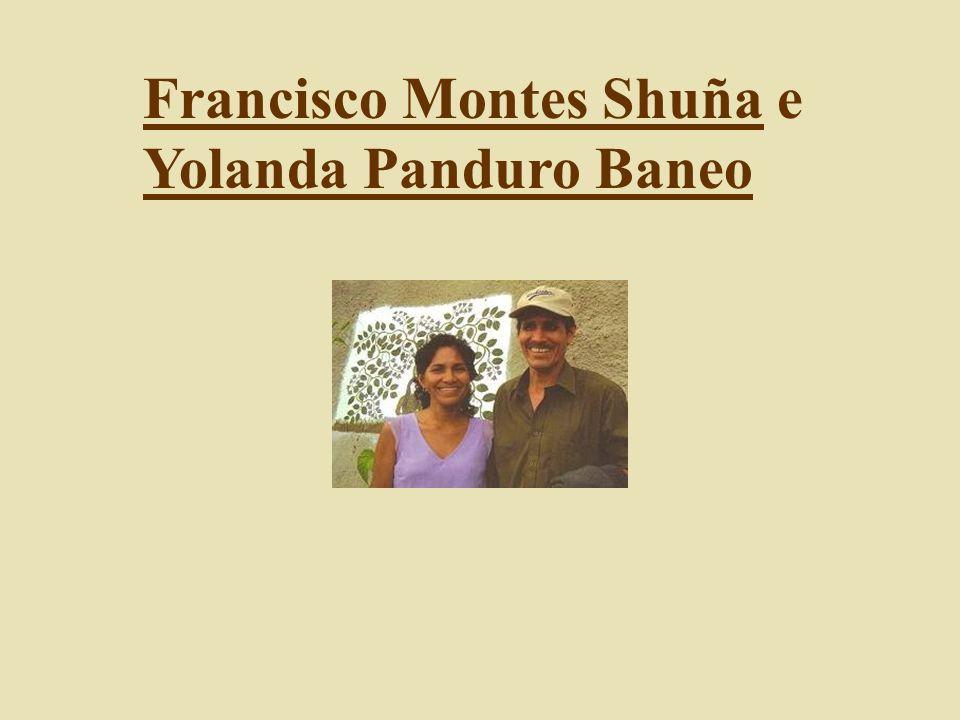 Francisco Montes Shuña e Yolanda Panduro Baneo