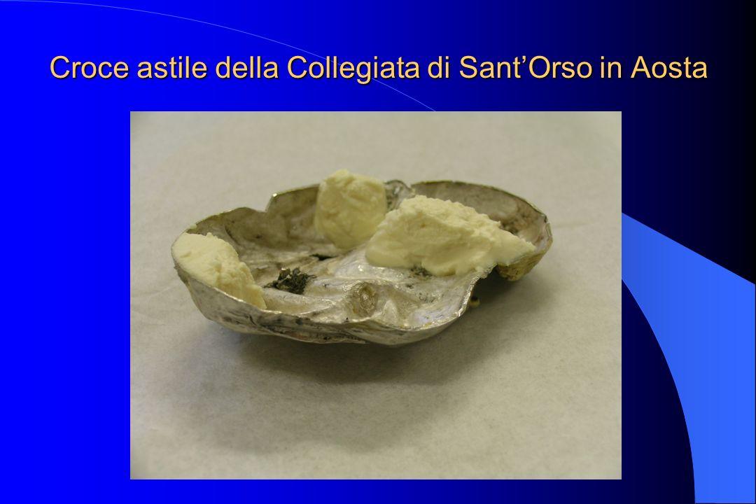 Croce astile della Collegiata di SantOrso in Aosta