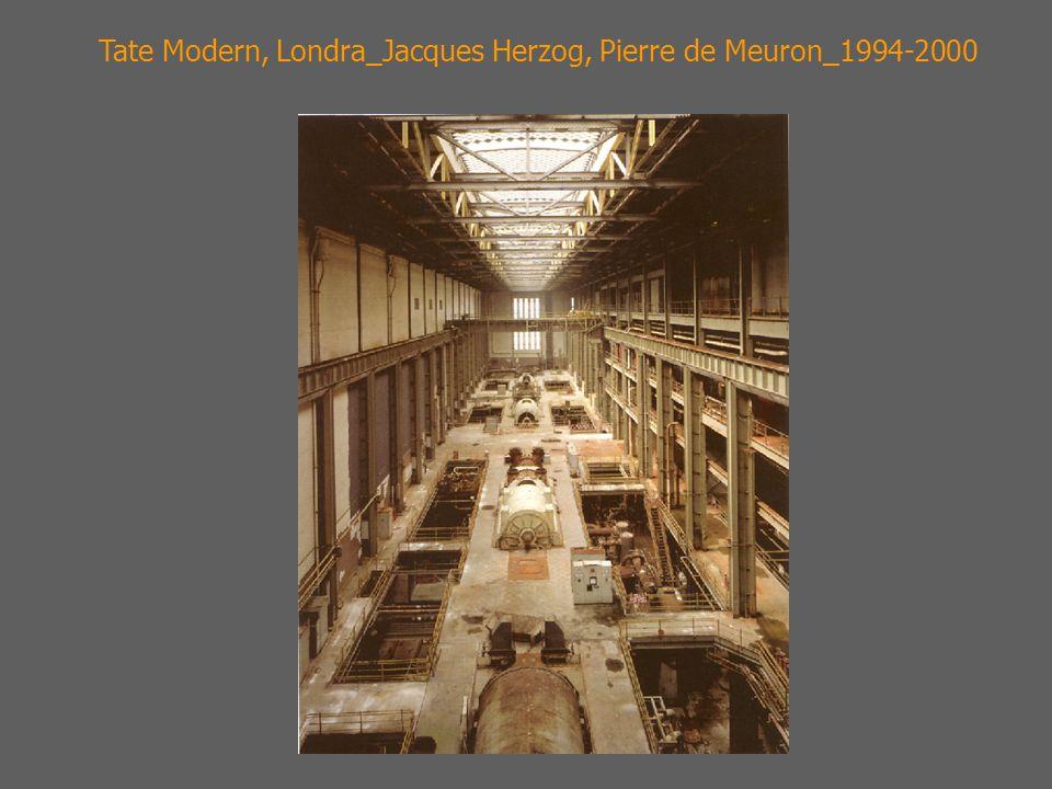 Tate Modern, Londra_Jacques Herzog, Pierre de Meuron_1994-2000