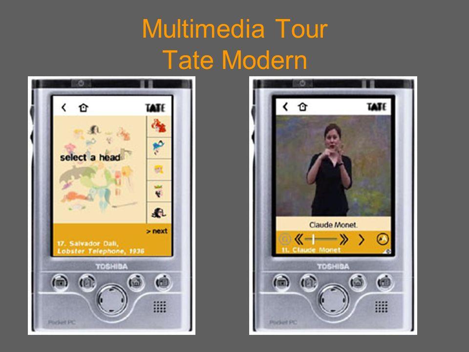 Multimedia Tour Tate Modern