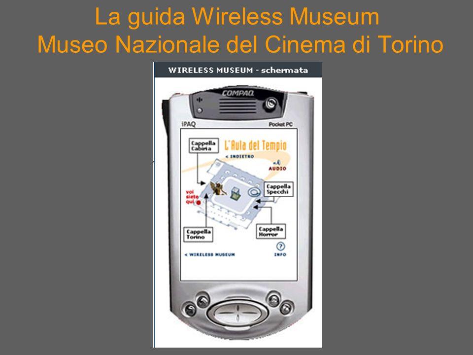 La guida Wireless Museum Museo Nazionale del Cinema di Torino
