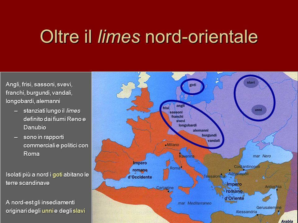 I goti I goti, dalle terre scandinave avevano colonizzato le pianure a nord della Vistola.