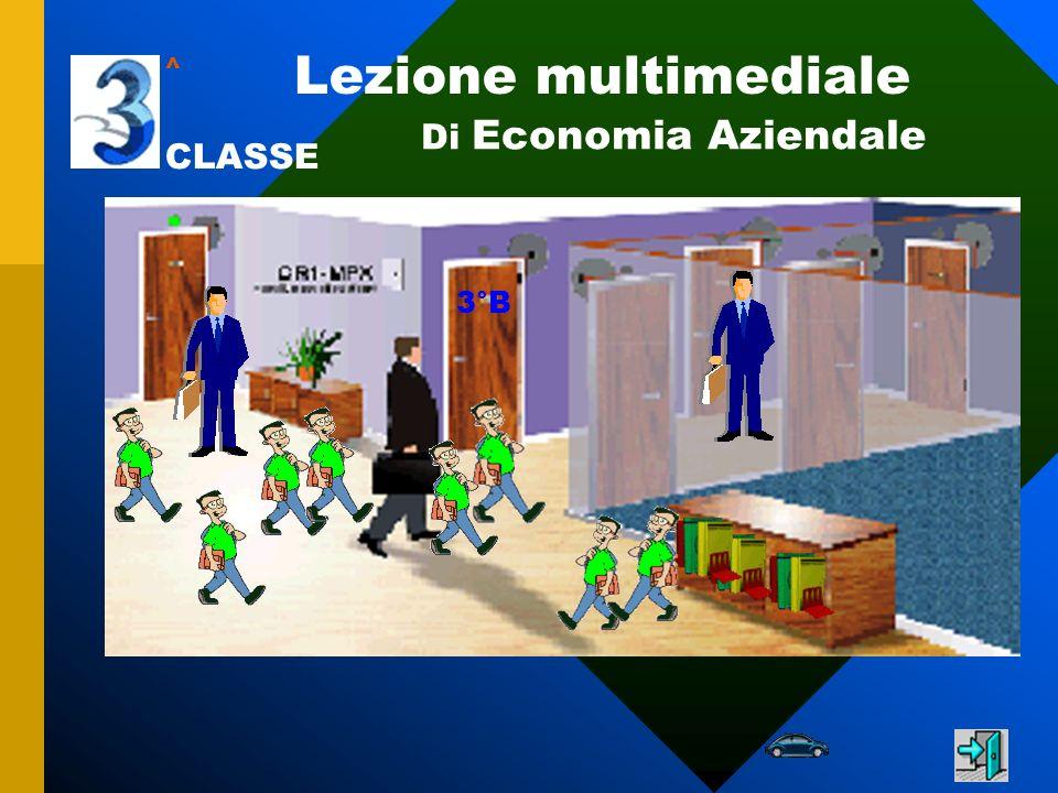 ^ Lezione multimediale Di Economia Aziendale CLASSE 3°B