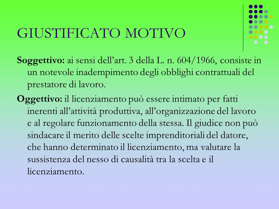 PROCEDURE CONCILIATIVE Ai sensi dellart.6 della L.