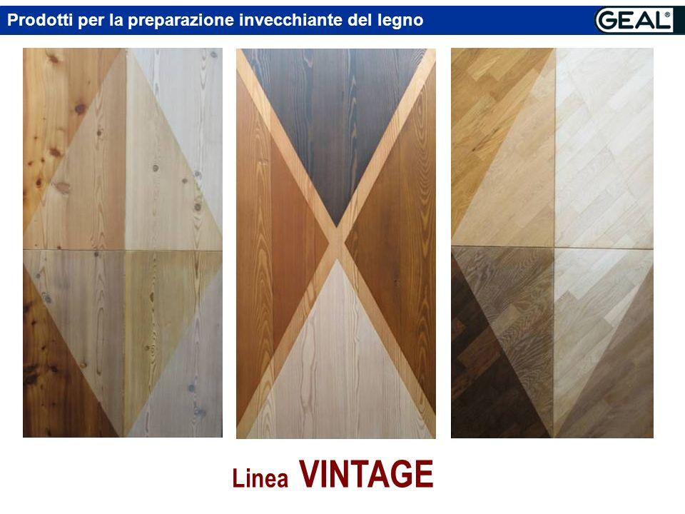 Prodotti per la preparazione invecchiante del legno Linea VINTAGE VINTAGE SUPER Liquido denso sfibrante. Specifico per Rovere Effetto invecchiato e co