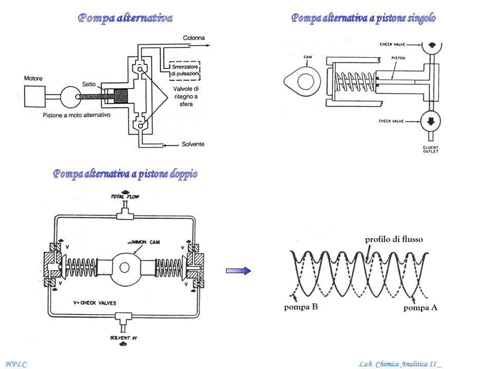 Lab. Chimica Analitica II _HPLC Cromatogramma di eluizione LSC