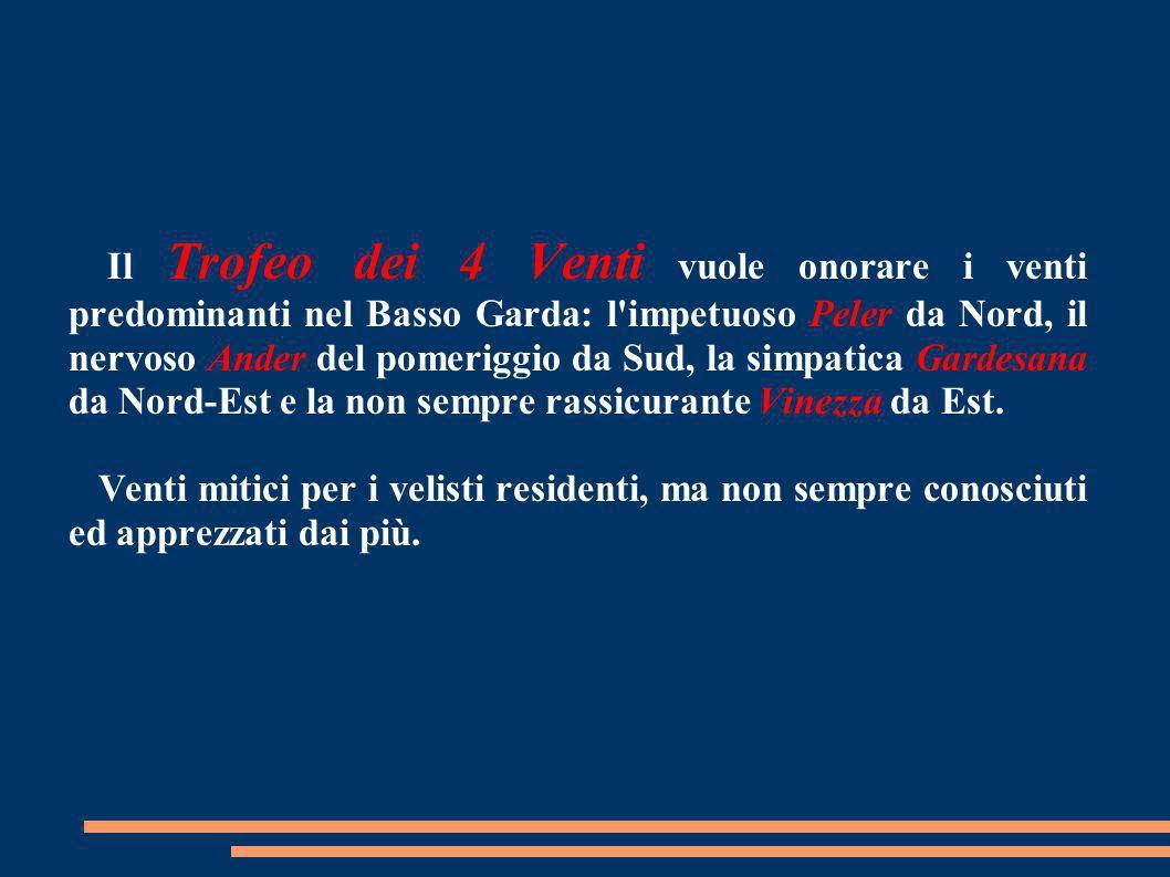 In collaborazione con il West Garda Yacht Club, il NautiClub Moniga, i Diavoli Rossi di Desenzano e l'Associazione Vela Crema il percorso quadrangolar