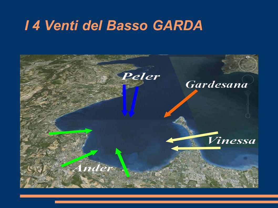 Il Trofeo dei 4 Venti vuole onorare i venti predominanti nel Basso Garda: l impetuoso Peler da Nord, il nervoso Ander del pomeriggio da Sud, la simpatica Gardesana da Nord-Est e la non sempre rassicurante Vinezza da Est.