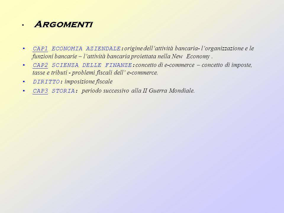 Argomenti CAP1 ECONOMIA AZIENDALE: origine dellattività bancaria- lorganizzazione e le funzioni bancarie – lattività bancaria proiettata nella New Economy.