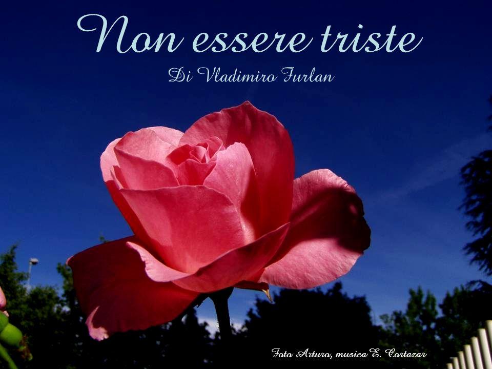 Non essere triste Di Vladimiro Furlan Foto Arturo, musica E. Cortazar