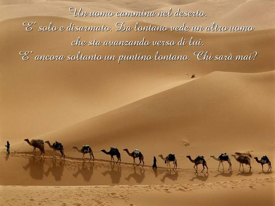 Cammina nel deserto Cammina nel deserto