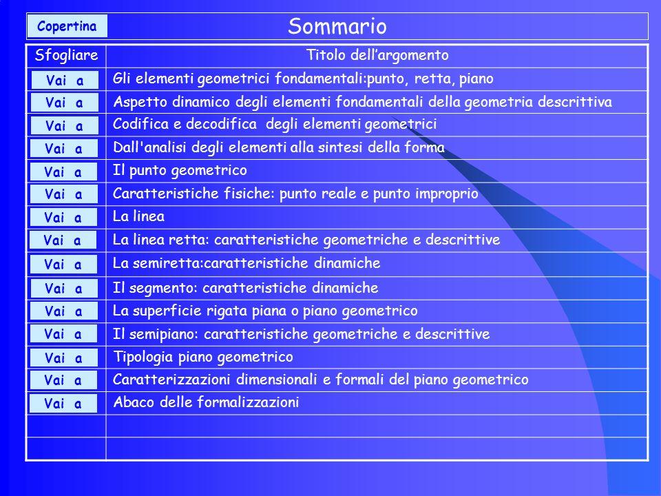 Abaco delle formalizzazioni (4) Insiemistico- descrittiva Descrittiva Insiemistica Piano rigato FormalizzazioniEspressioni Elementi geometrici Insiemistico- descrittiva Descrittiva Insiemistica Piano punteggiato FormalizzazioniEspressioni Elementi geometrici