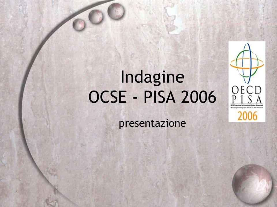 Indagine OCSE - PISA 2006 presentazione