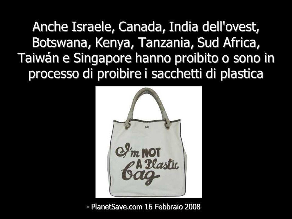 Nel 2005, il Rwanda ha proibito i sacchetti di plastica -Prensa Asociada