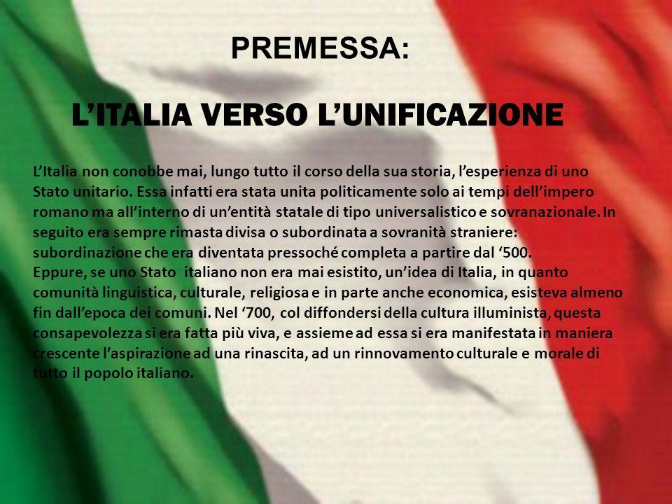 La storia italiana infatti è un alternarsi di lento correre del tempo e improvvise accelerazioni.