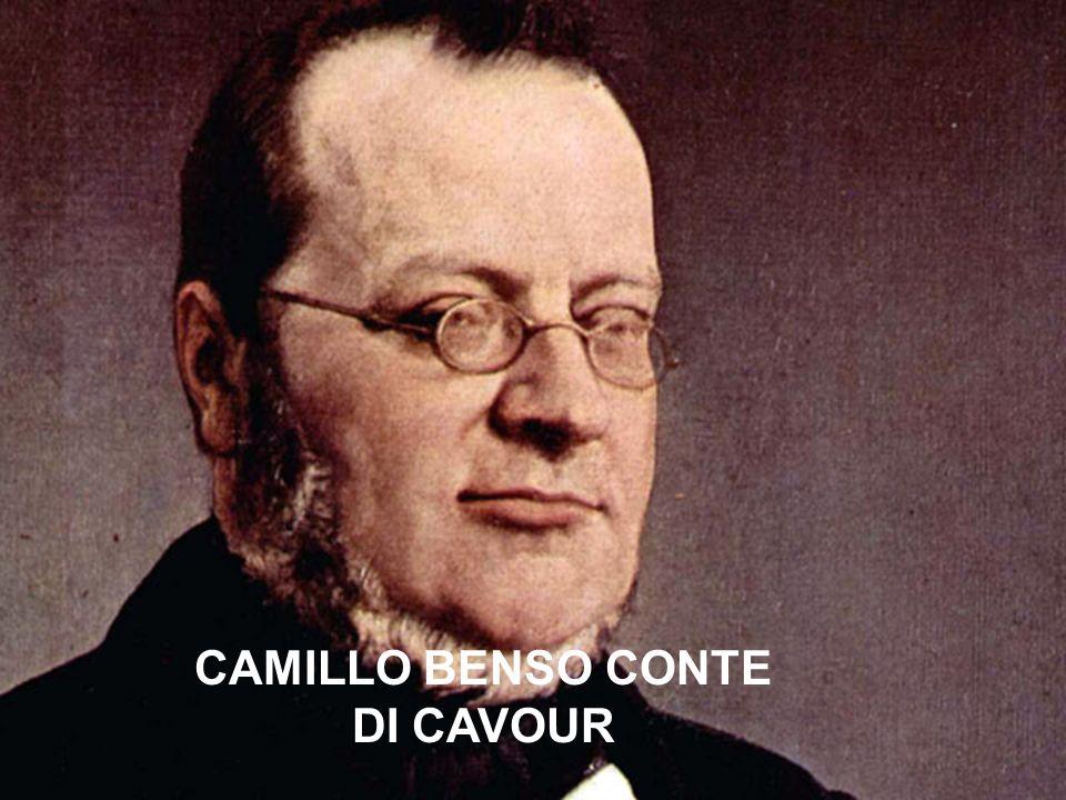 CAMILLO BENSO CONTE DI CAVOUR CAMILLO BENSO CONTE DI CAVOUR