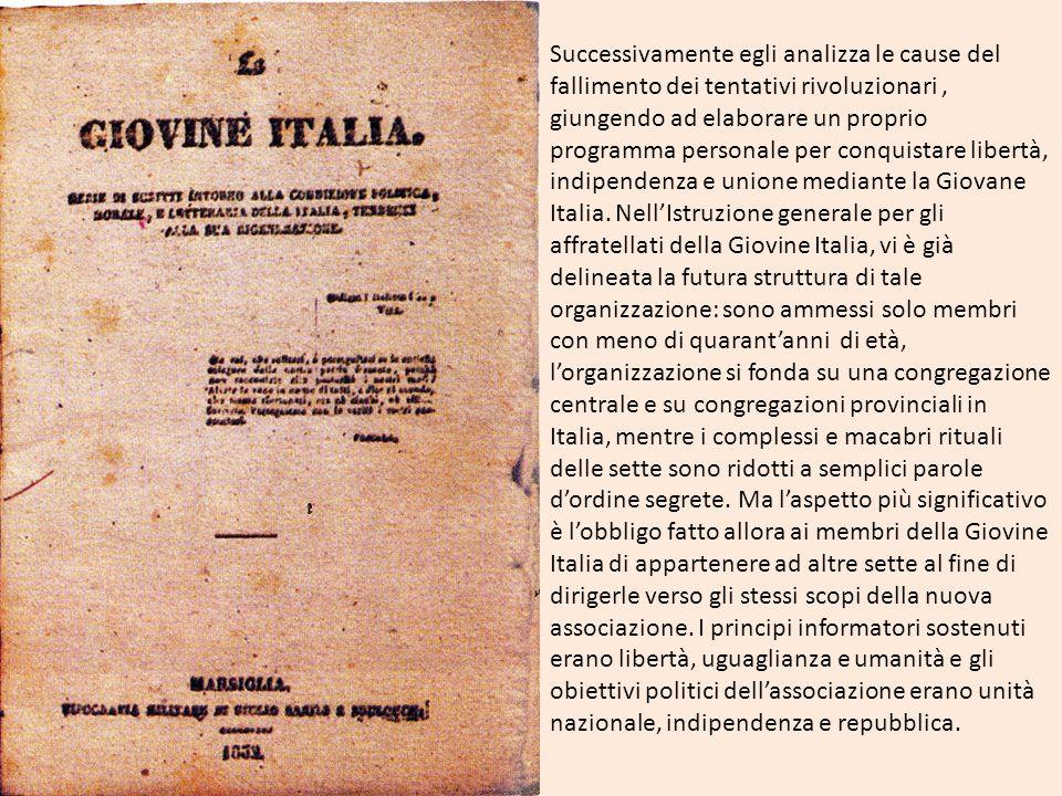 Ideologia mazziniana Influenzato dai sansimoniani, Mazzini è molto lontano dal considerare positivamente i conflitti sociali.