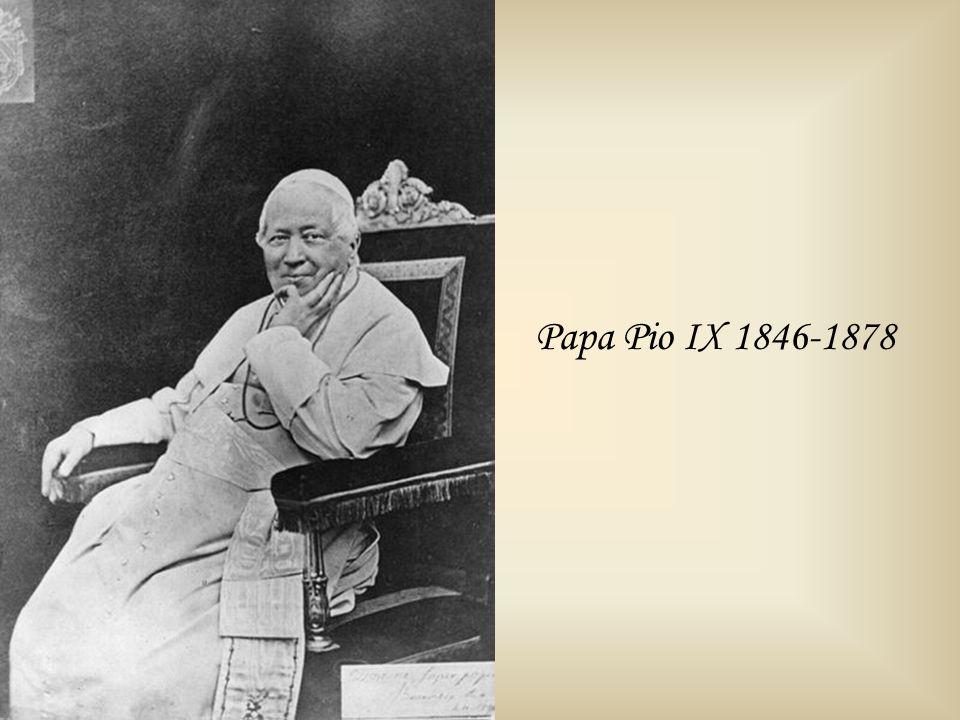 Papa Pio IX 1846-1878