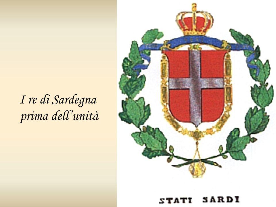 I re di Sardegna prima dellunità