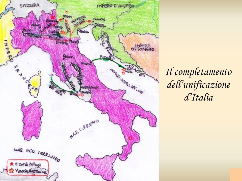 Il completamento dellunificazione dItalia