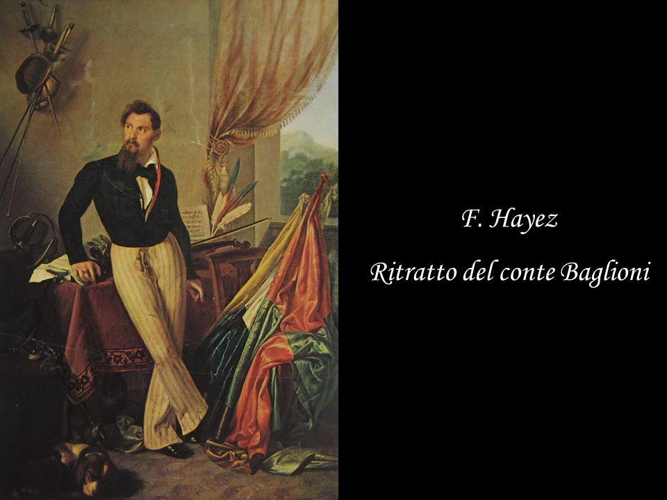 F. Hayez Ritratto del conte Baglioni
