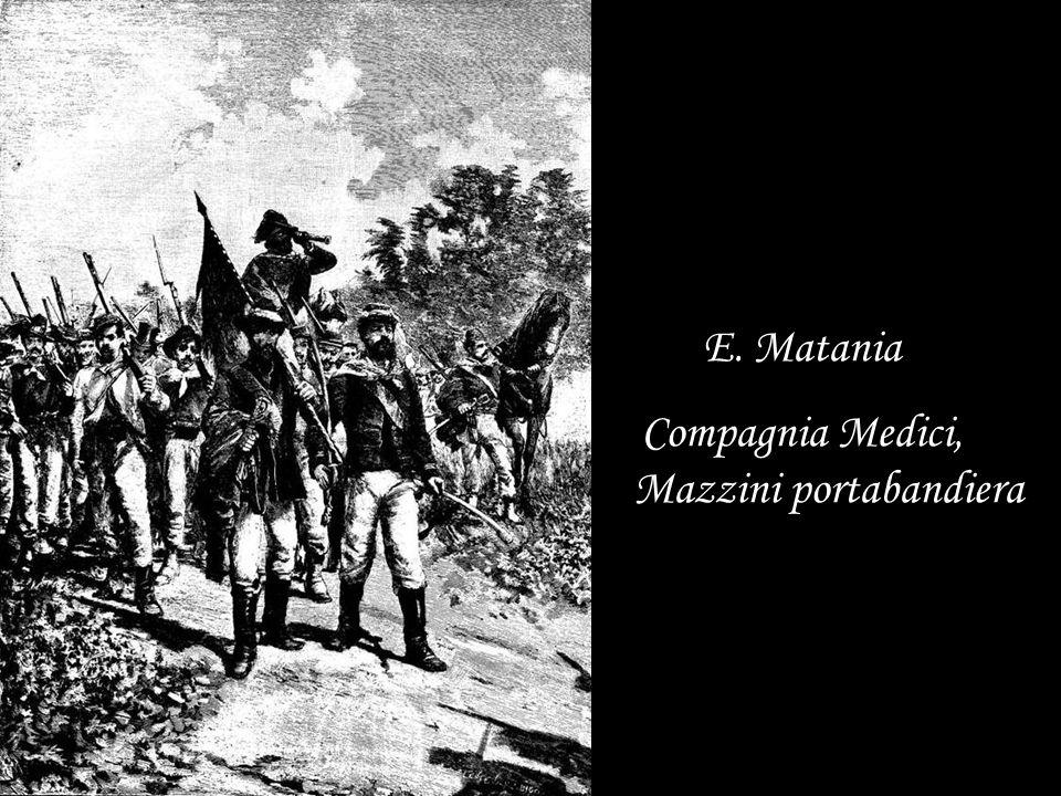 E. Matania Compagnia Medici, Mazzini portabandiera