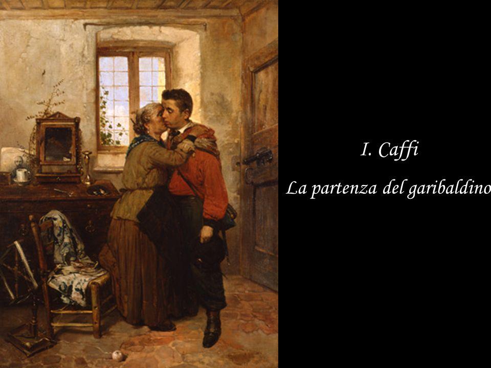 I. Caffi La partenza del garibaldino