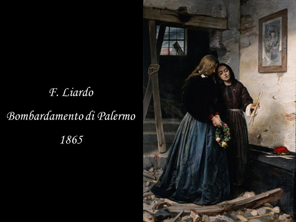 F. Liardo Bombardamento di Palermo 1865