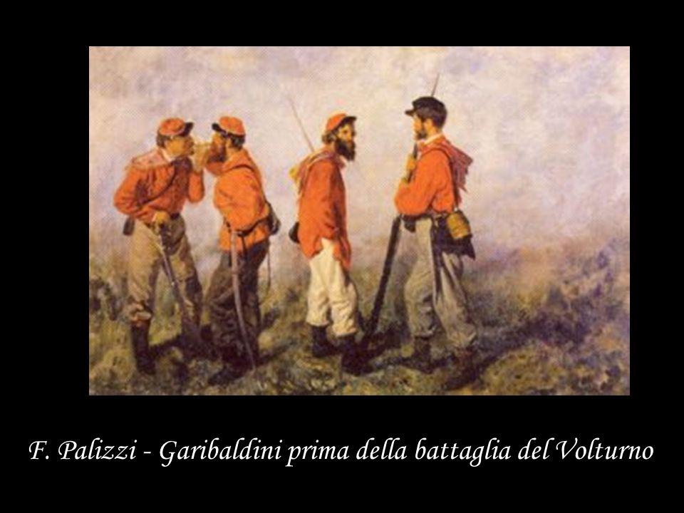 F. Palizzi - Garibaldini prima della battaglia del Volturno