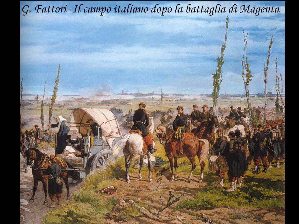 G. Fattori- Il campo italiano dopo la battaglia di Magenta