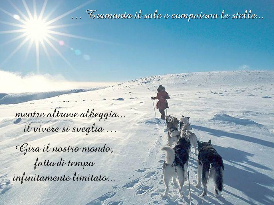 Pensieri Music: snowdream Tramonta il sole e compaiono le stelle...
