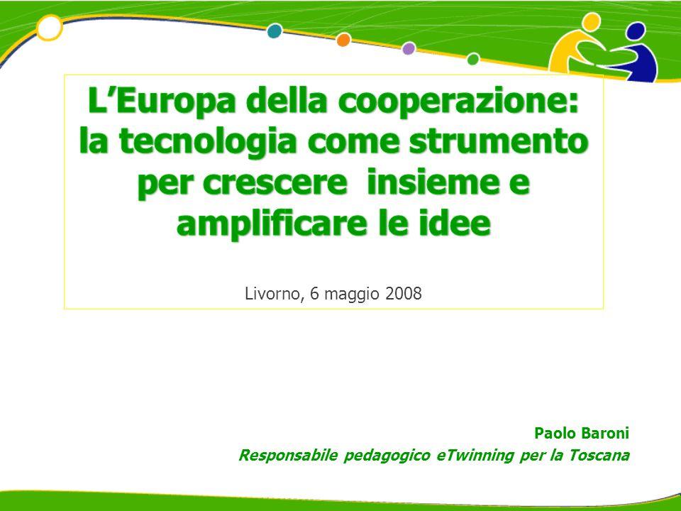 Paolo Baroni Responsabile pedagogico eTwinning per la Toscana