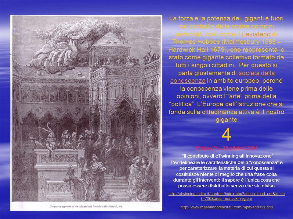 La forza e la potenza dei giganti è fuori dal controllo delle nostre opinioni personali, così come il Leviatano di Thomas Hobbes (Malmesbury 1588 – Ha