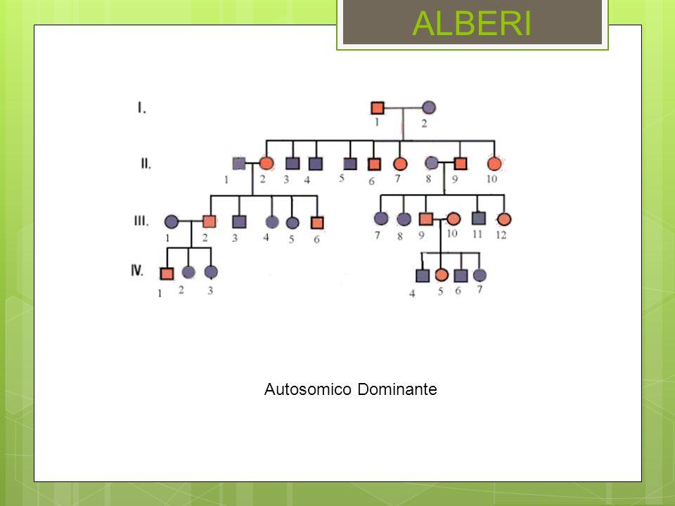 ALBERI Autosomico Dominante