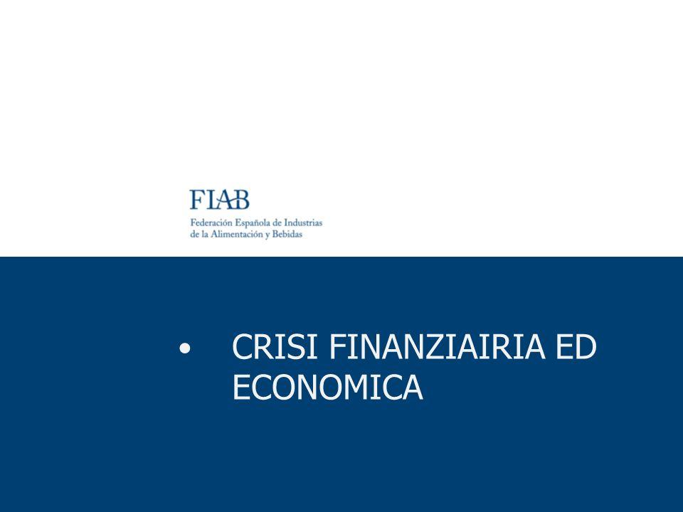 CRISI FINANZIAIRIA ED ECONOMICA