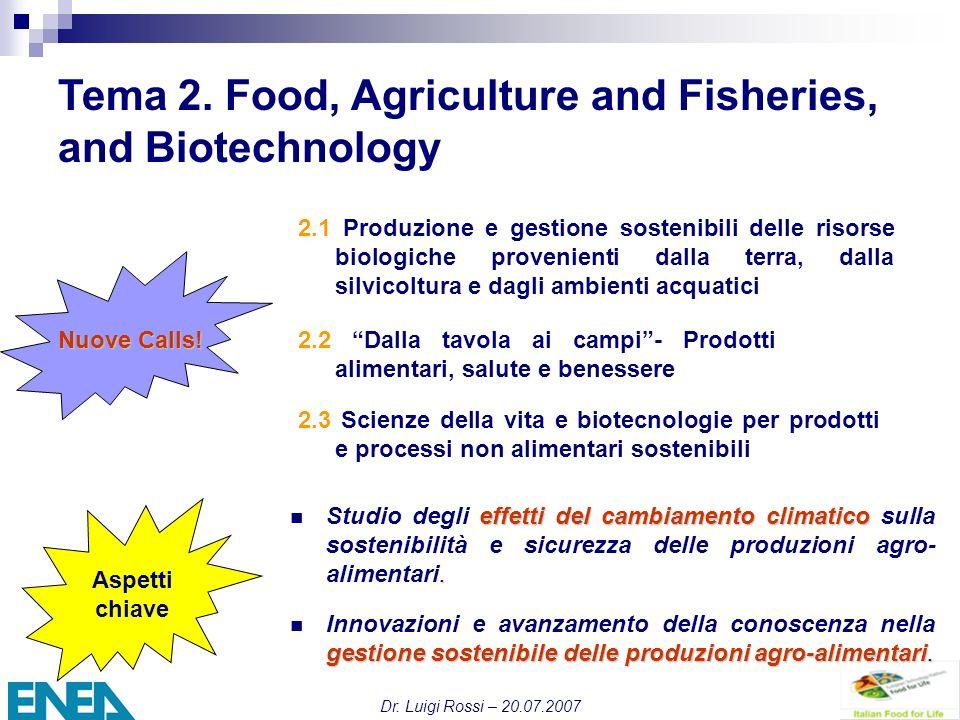 Dr. Luigi Rossi – 20.07.2007 Tema 2.