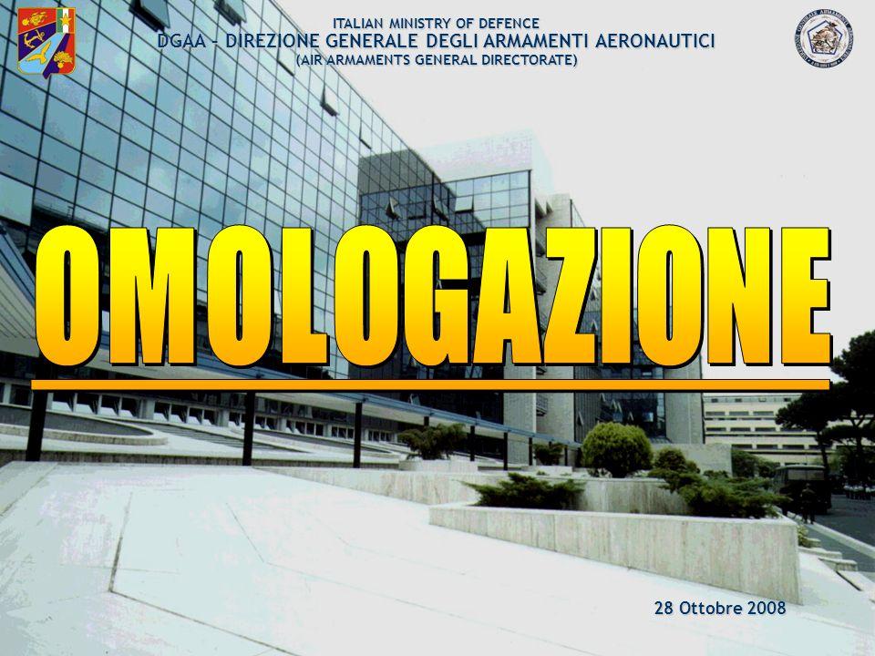 ARMAEREO 2/120 Edizione 16 ott 2007 Emendamento N.