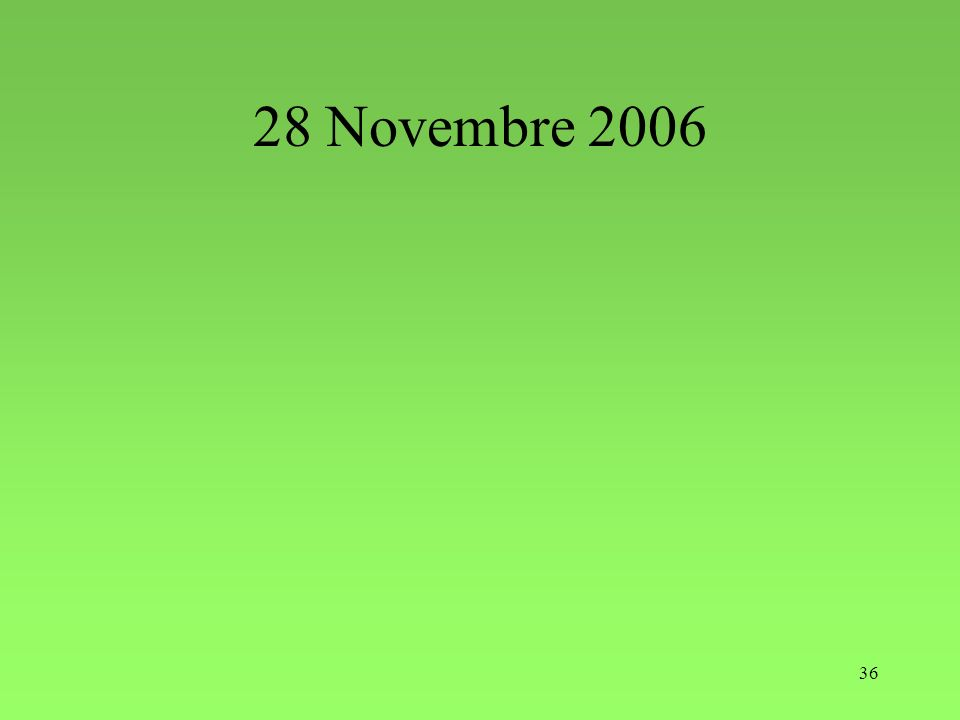 36 28 Novembre 2006