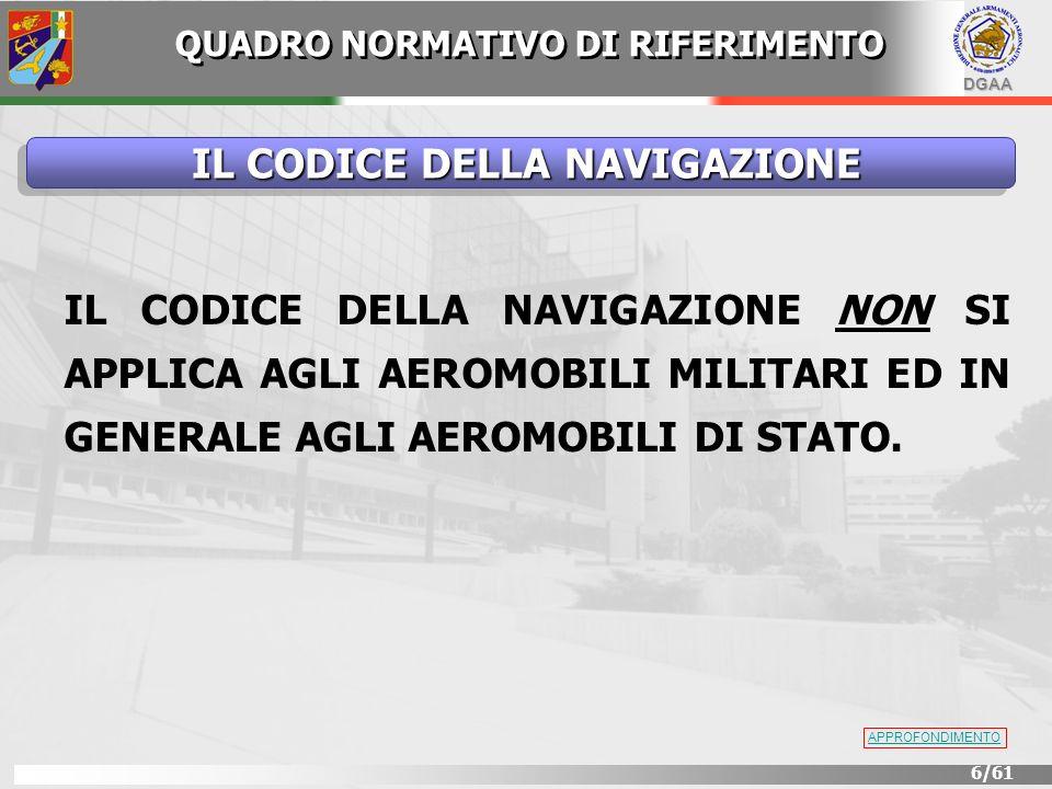 DGAA 37/61 Aeromobili Militari Art.