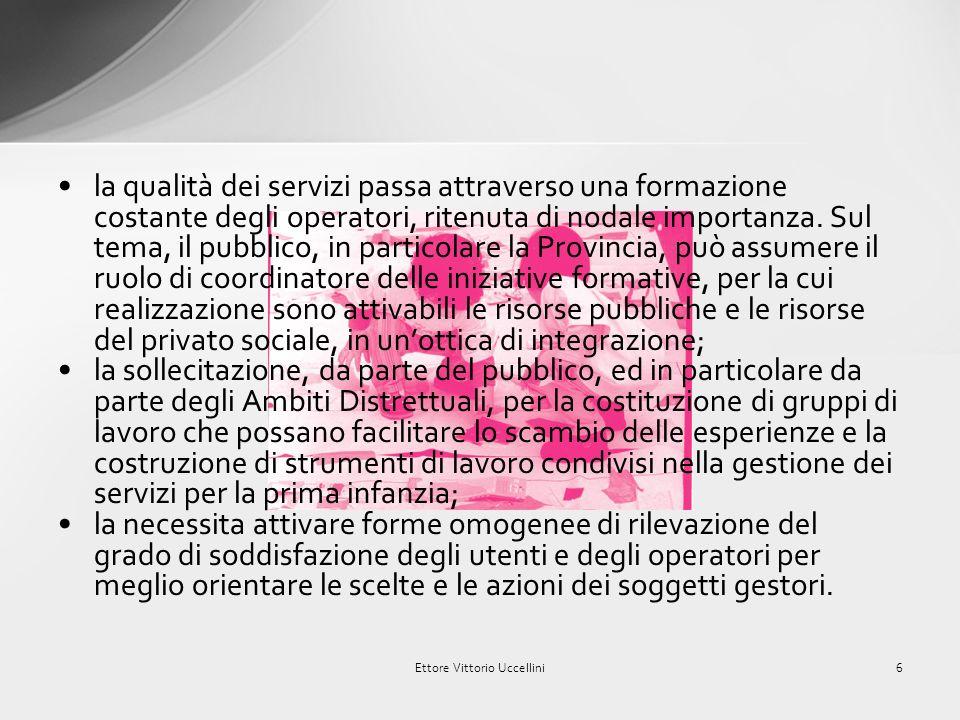 In occasione dellevento Mantoverrà - La qualità della vita Nel Mantovano del maggio 2010, era stata avviata una importante e significativa riflessione sui servizi per la prima infanzia.