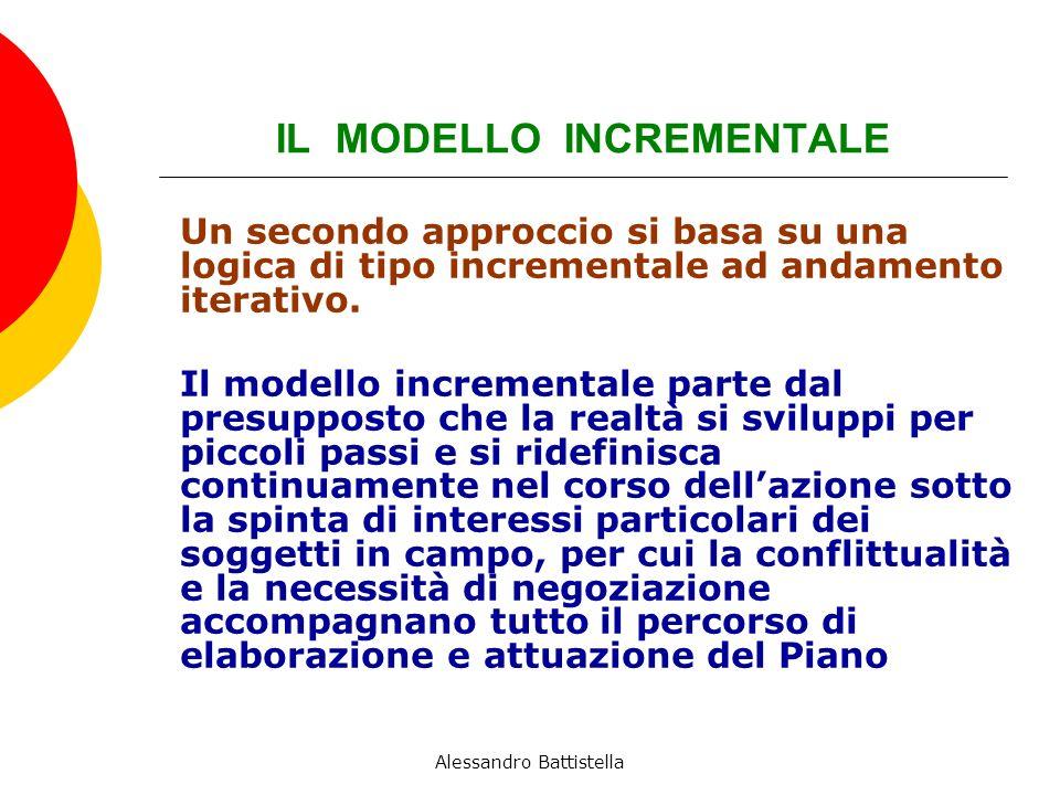 IL MODELLO INCREMENTALE Un secondo approccio si basa su una logica di tipo incrementale ad andamento iterativo.