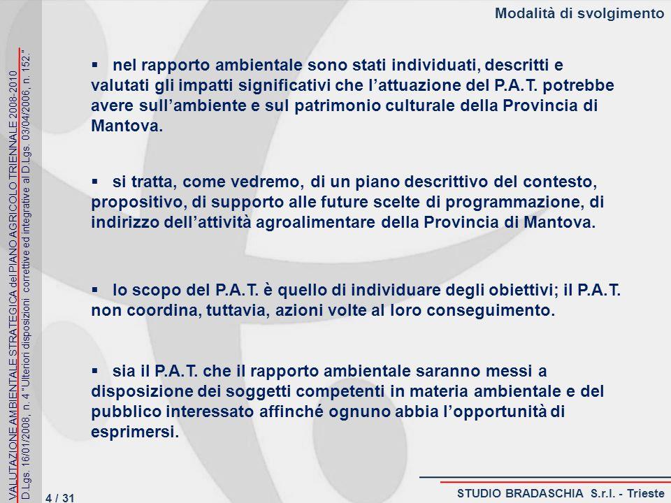 Problematiche ambientali, rilevanza ambientale, culturale e paesaggistica PRODUZIONI AGRICOLE DI PARTICOLARE QUALITA E TIPICITA (art.