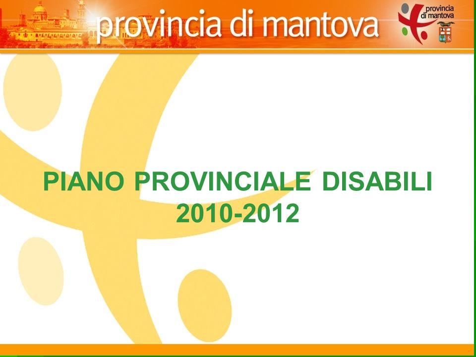 123 PIANO PROVINCIALE DISABILI 2010-2012