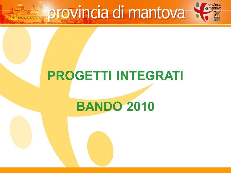 14 PROGETTI INTEGRATI BANDO 2010