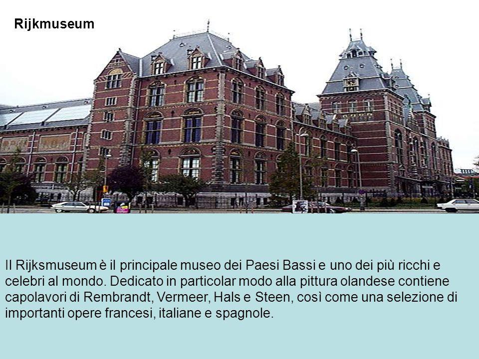 Il Rijksmuseum è il principale museo dei Paesi Bassi e uno dei più ricchi e celebri al mondo. Dedicato in particolar modo alla pittura olandese contie
