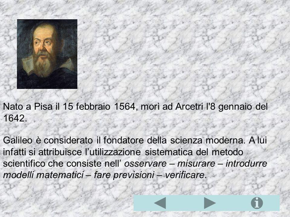 La relatività galileiana Galileo, per difendere la teoria copernicana dai suoi critici, si sforza di dimostrare, nel Dialogo sopra i due massimi siste