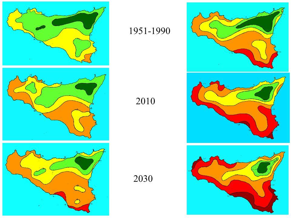 1951-1990 2010 2030